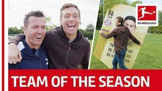 EA SPORTS FUT 18 Team of the Season - Pick by Lothar Matthäus and Jimmy Conrad