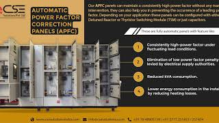 Automatic Power Factor Correction Panels (APFC)