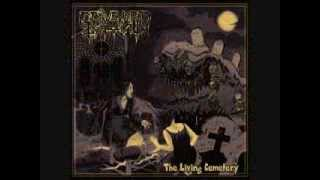 """GRAVEYARD GHOUL - Scraping From A Coffin - taken from """"The Living Cemetery"""" Album 2014"""