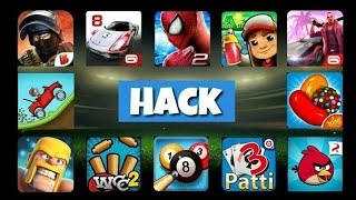 How To Hack All Android Games In Your Android Device | Get unlimited Coins & more |