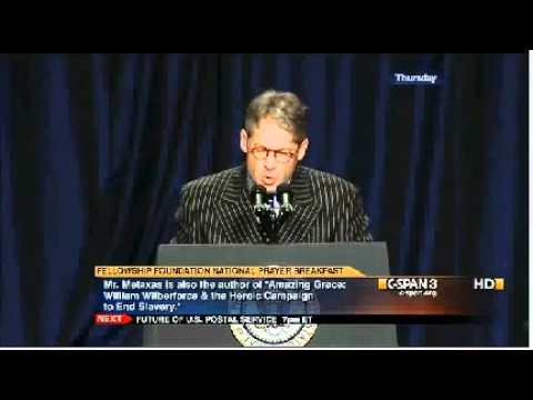 2012 National Prayer Breakfast Speeches: Eric Metaxas & President