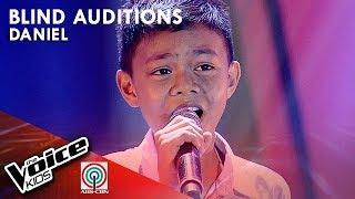 Daniel Alcala - Habang May Buhay   Blind Auditions   The Voice Kids Philippines Season 4
