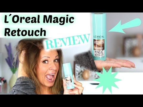 L´oreal Magic Retouch REVIEW deutsch / Ansatzspray getestet Hot or not?