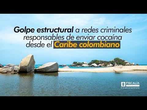 Fiscal Francisco Barbosa: Golpe a redes criminales responsables de enviar cocaína desde el Caribe