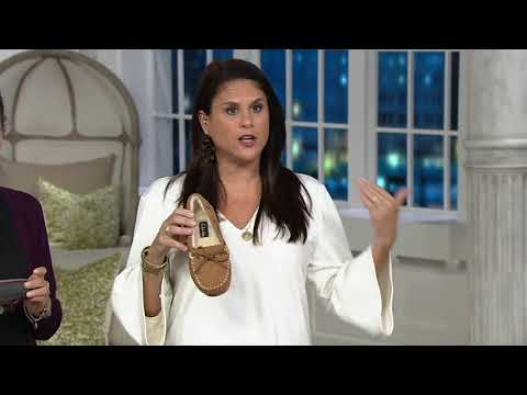 Clarks Suede Women's Moccasin Slippers on QVC