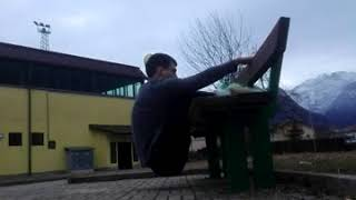 Proof of concept: leg extensions, full bodyweight, with a robust park bench and some padding.