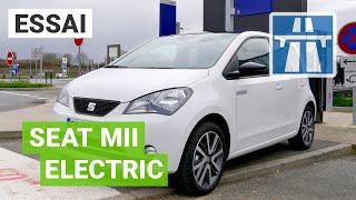 Essai SEAT Mii : une CITADINE électrique à l'aise sur AUTOROUTE ?