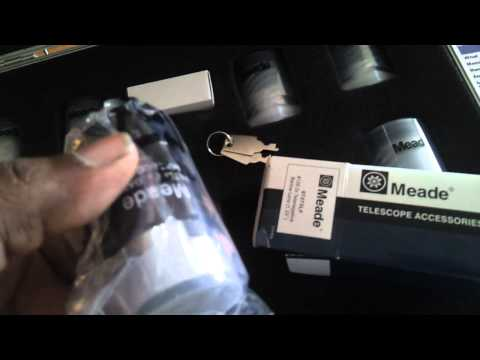 meade  4000 series eyepiece and filter kit.