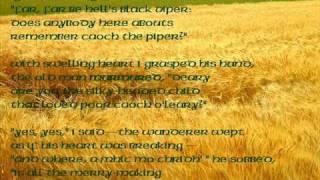 "Irish Tradition : Poem ""Caoch O'Leary"""