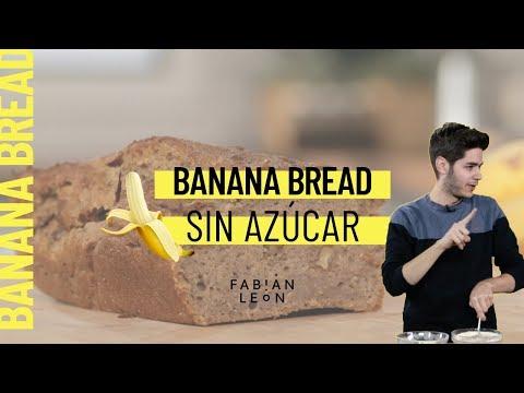 Banana Bread SIN azúcar y SIN huevo // Postre vegano fácil