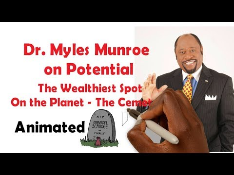 Dr. Myles Munroe on POTENTIAL - The Wealthiest Place on the Planet (Animated)