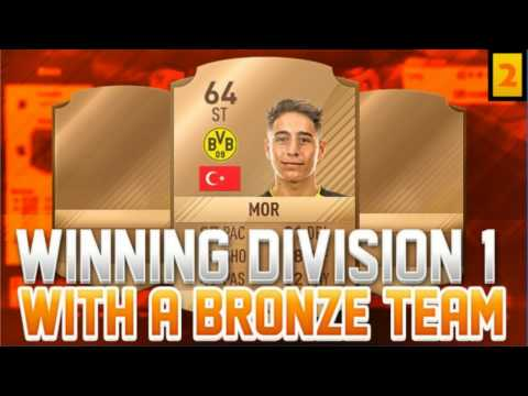 WINNING DIVISION 1 WITH A BRONZE TEAM #2 - FIFA 17