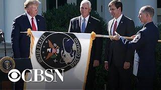 Trump launches U.S. Space Command