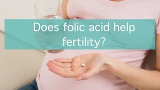 Does folic acid help fertility?