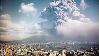 Il fumo dal vesuvio ancora attivo Napoli!