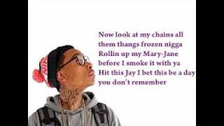 Wiz Khalifa Snoop Dogg Ft. Currensy OG (Lyric Video)