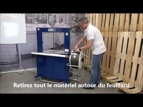 Ampag Boxer II: Insertion du feuillard