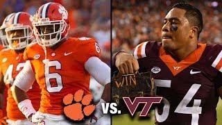 Clemson vs. Virginia Tech Preview: Saturday Night Lights