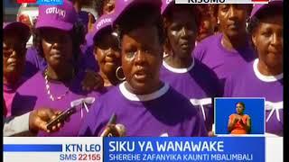 Wanawake nchini Kenya wamejiunga na mataifa mengine duniani kuadhimisha siku kuu ya wanawake