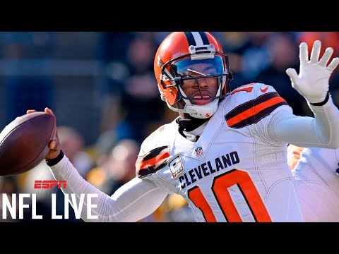 Ravens sign QB Robert Griffin III to one-year deal | NFL Live | ESPN