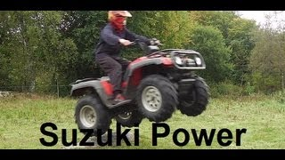 'TS' The Power Of The Suzuki Quadmaster 500