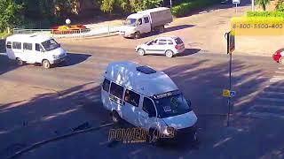 ДТП (авария г. Волжский)    пр. Ленина ул. Комсомольская 08-08-2018 16-08