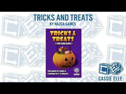 Cassie Elle talks Tricks and Treats by Nazca Games
