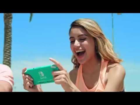 Видео № 0 из игры Nintendo Switch Lite (кораллово-розовый)