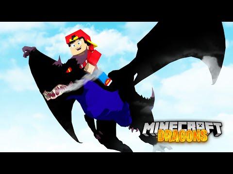 Minecraft DRAGONS - MEET MY NEW LEGENDARY SCALEMOUNT DRAGON!!
