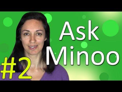 Learning English - Ask Minoo #2