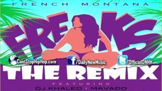 French Montana - Freaks (Remix) (Ft. DJ Khaled, Mavado, Rick Ross, Wale & Nicki Minaj) [NEW]