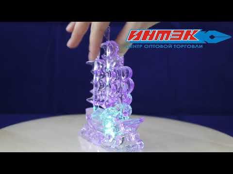 """Статуэтка со световыми эффектами """"Корабль"""" Арт.AXF061418"""