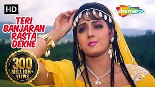 Teri Banjaran Rasta (HD) | Banjaran Songs | Rishi Kapoor | Sridevi | Alka Yagnik