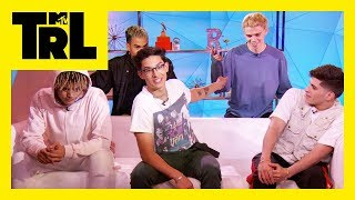 PRETTYMUCH Shows How Well They Know Each Other   TRL Pop Quiz   TRL