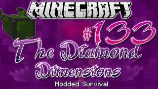 """""""KNIGHT PHANTOM BOSS BATTLE   Diamond Dimensions Modded Survival #133   Minecraft"""