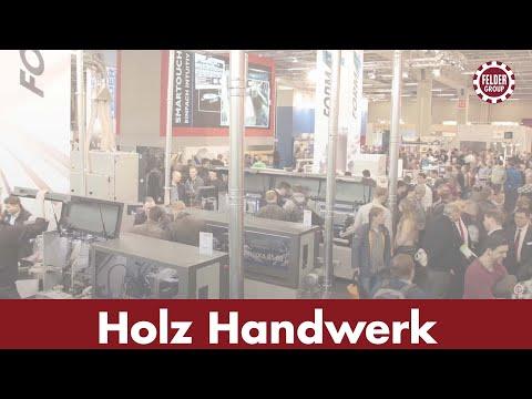 Holz-Handwerk Nürnberg 2016 Video-Wall