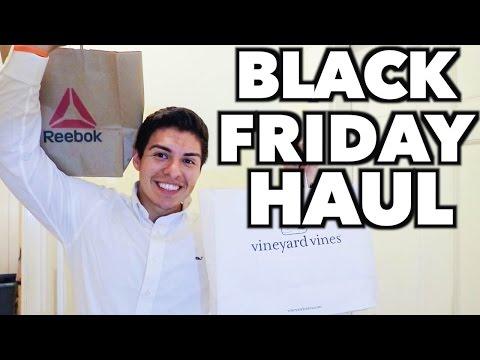Black Friday 2016 Shopping Try On & Haul! Vineyard Vines, Reebok!