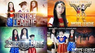 รวมคลิปยอดนิยม ละครสั้น ซุปเปอร์ฮีโร่ JUSTICE LEAGUE KIDS Supergirl Wonder Woman Harley Quinn