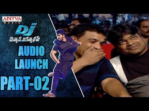 DJ Audio Launch Part - 02 || DJ Audio Launch Live || AlluArjun, Pooja Hegde, Harish Shankar, DSP