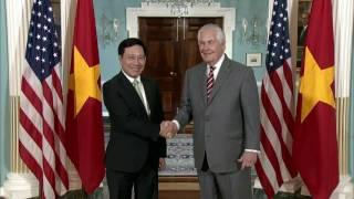 Secretary Rex Tillerson Meets With Vietnamese Deputy Prime Minister Minh