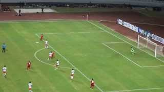 preview picture of video 'Goll Evan Dimasi di Stadion Palarang Samarinda'