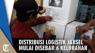 Distribusi Logistik di Jaksel Mulai Disebar ke 6 Kelurahan