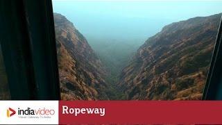 Ropeway at Pavagadh Mahakali Temple,