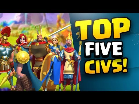 TOP FIVE Civilizations! How to pick yours in Rise of Kingdoms!