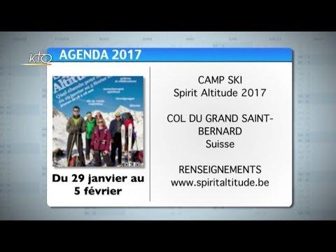 Agenda du 19 décembre 2016