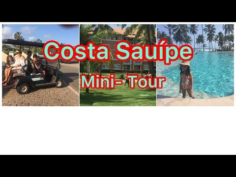 COSTA DO SAUPE. Vlog: Mini Tour de Carrinho Eltrico pela Costa Sauipe.