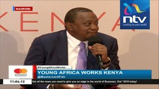 President Uhuru opens up on childhood dreams as he answers questions from youth