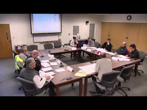 11.12.19 TECHNICAL ADVISORY COMMITTEE: WORK SESSION