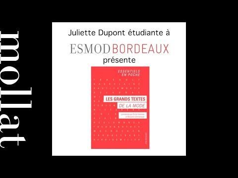 Esmod Juliette Dupond
