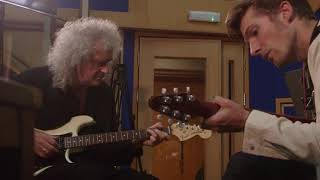 BOHEMIAN RHAPSODY movie   Behind the scenes with Brian May & Roger Taylor